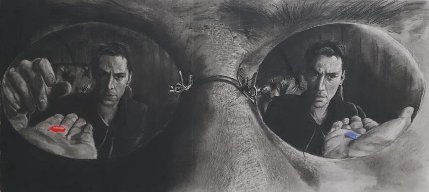 Keanu Reeves par Varoh